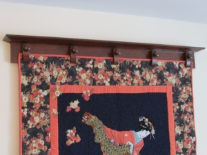 Wall Mounted Quilt Hanger